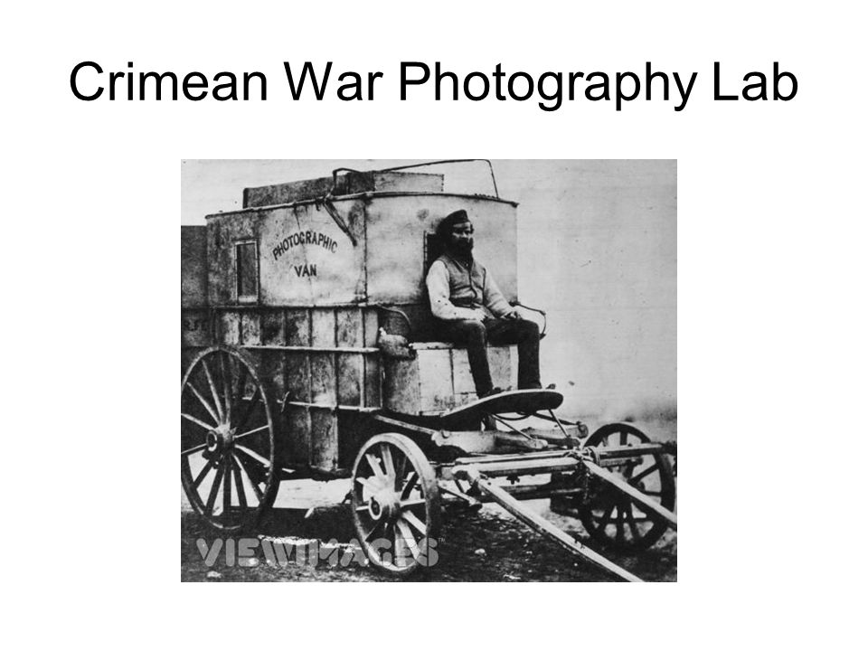 Crimean War Photography Lab