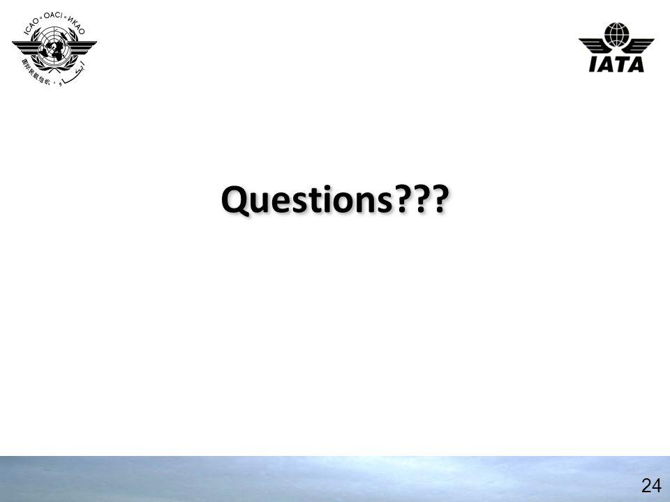 Questions Questions 24