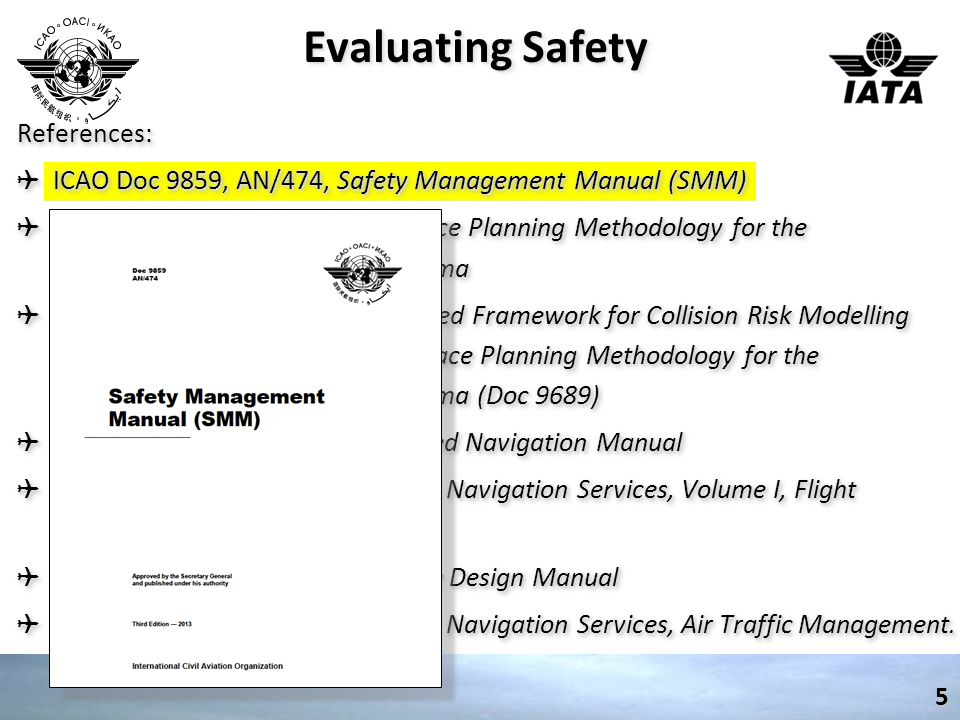 SAFETY MANAGEMENT SYSTEM (SMS) 6 Ref: ICAO 9859, 2.2