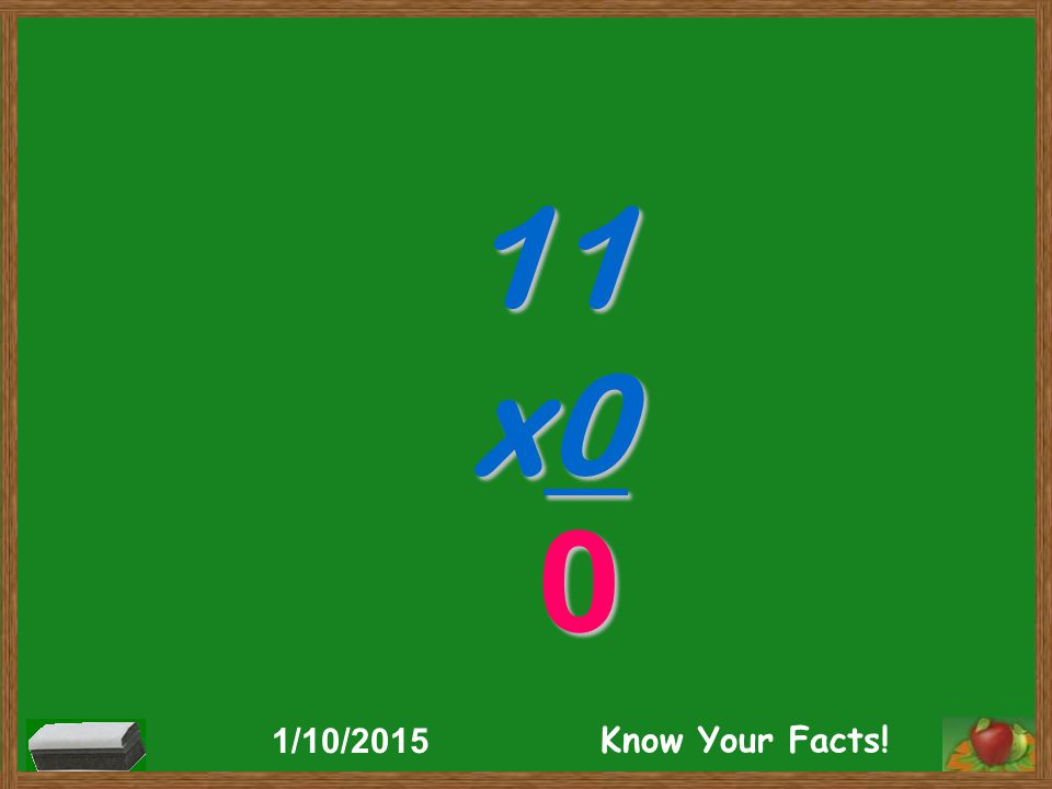 11 x0 0 1/10/2015 Know Your Facts!
