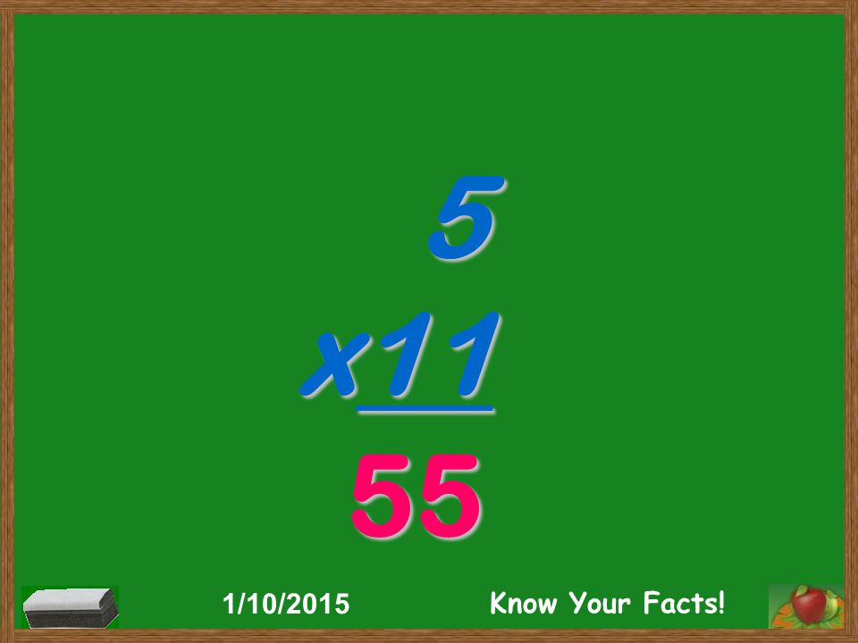 5 x11 55 1/10/2015 Know Your Facts!