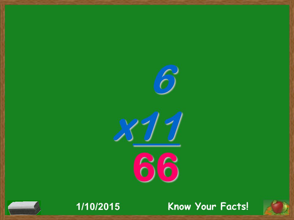 6 x11 66 1/10/2015 Know Your Facts!