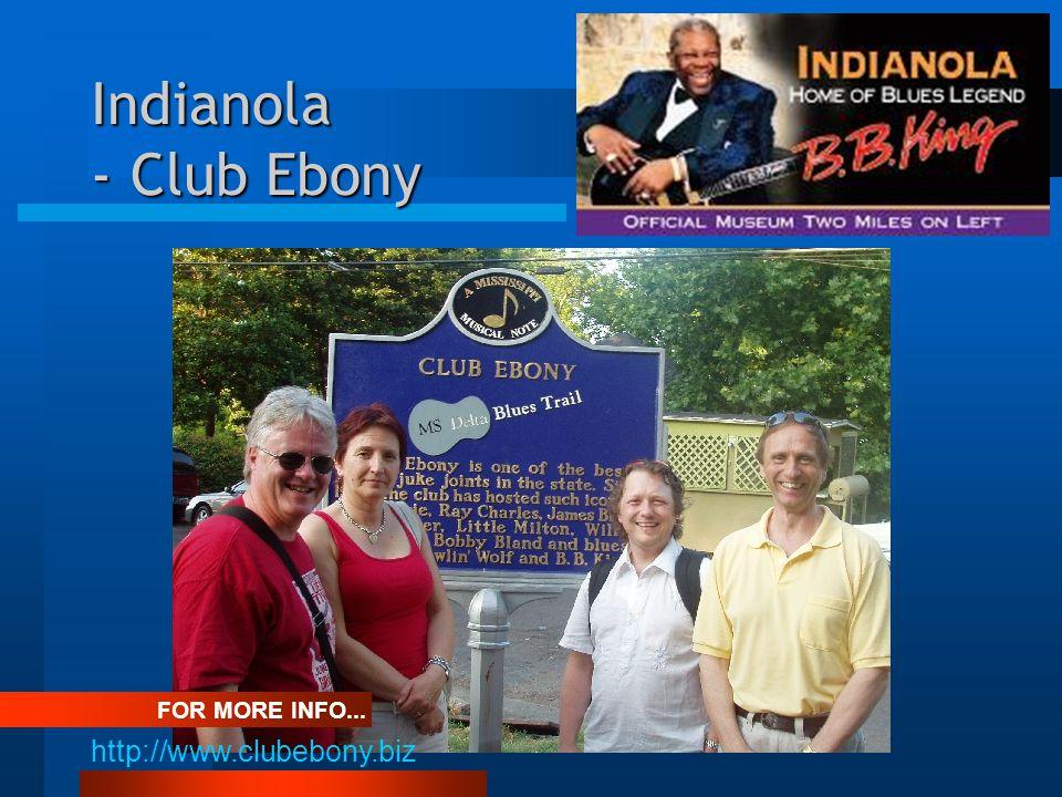 Indianola - Club Ebony FOR MORE INFO... http://www.clubebony.biz