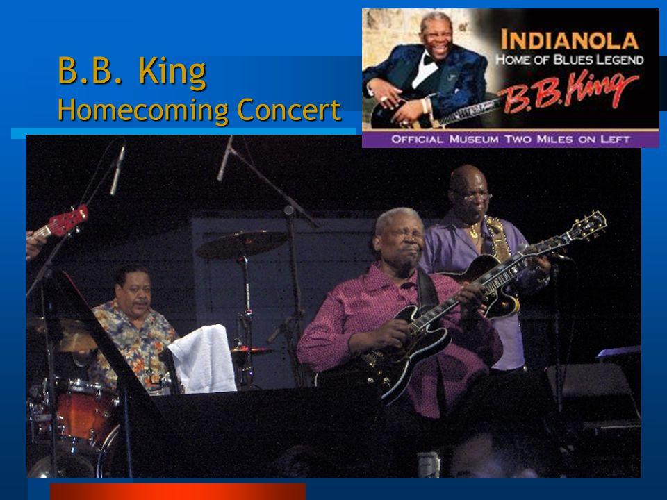 B.B. King Homecoming Concert