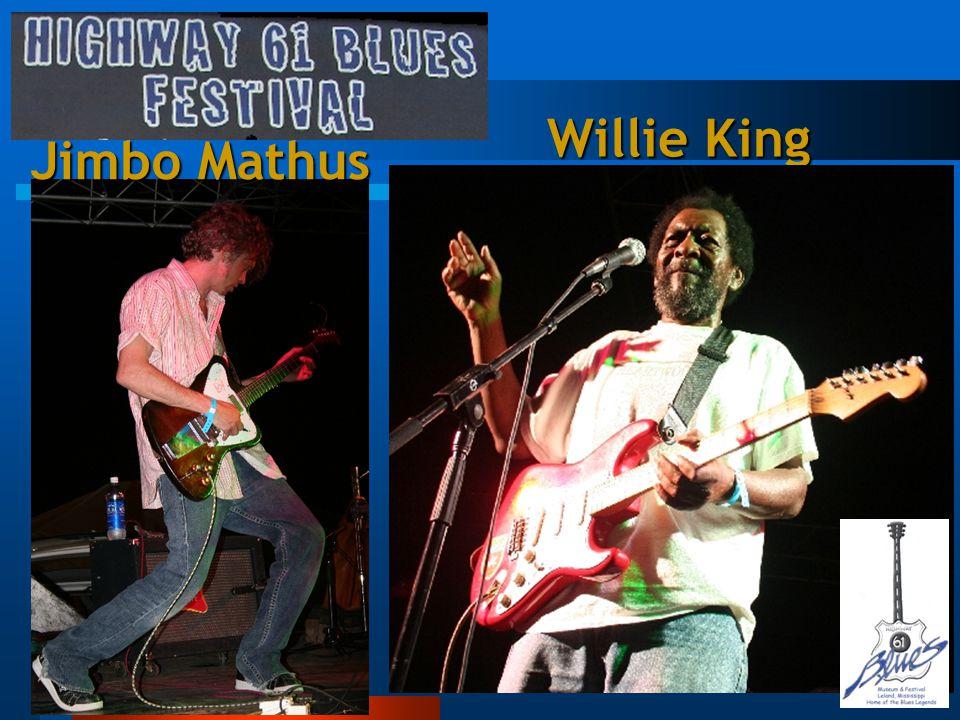Jimbo Mathus Willie King