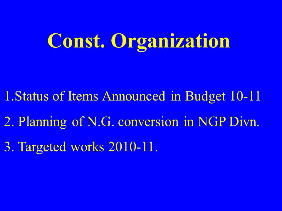 Name of WorkSanc.Year Anti. Cost TDCProg. Bhupdeopur – Remodeling for dealing with new pvt.