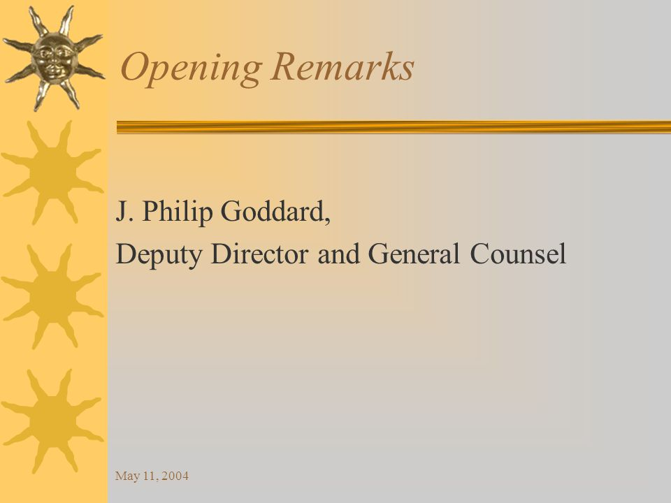 May 11, 2004 Department Compliance Advisory The DFI will allow renewals until July 1, 2004, because of conflict in current statute and new statute.