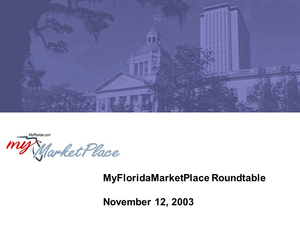 12 MyFloridaMarketPlace Billing and Collection What is the impact for agencies.
