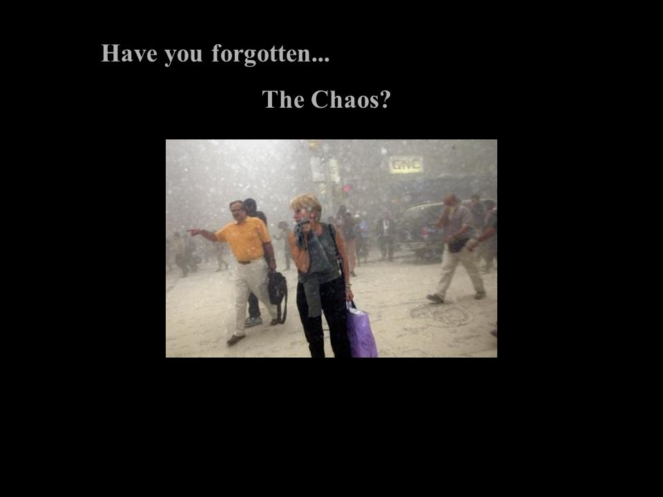 Have you forgotten... The Chaos?