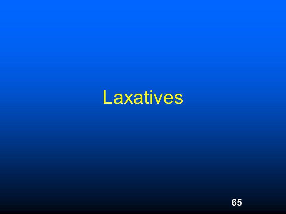 65 Laxatives