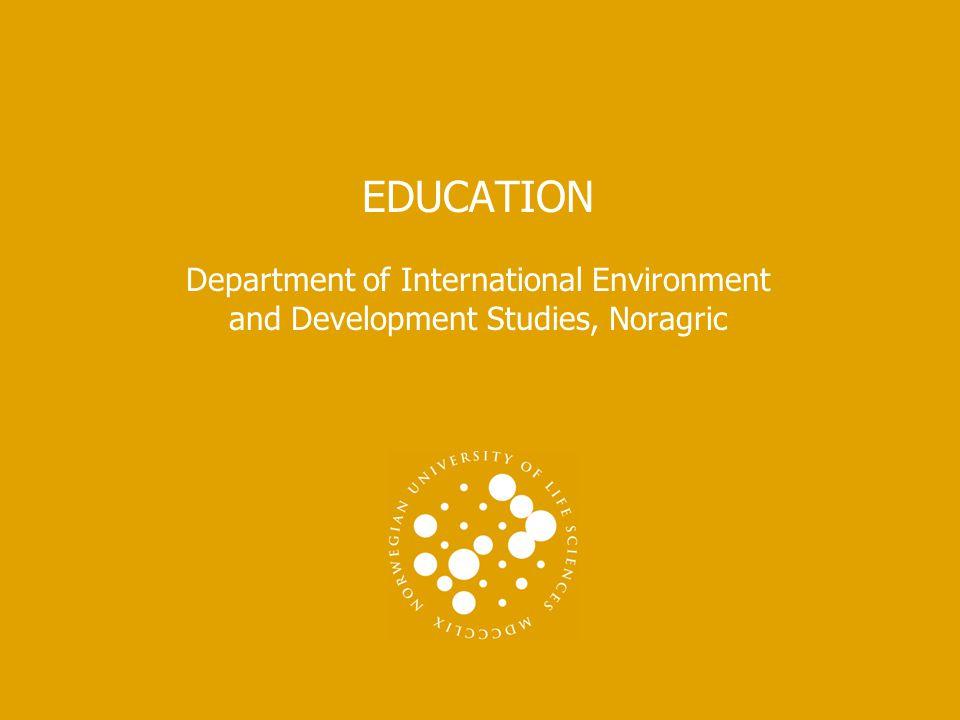 NORWEGIAN UNIVERSITY OF LIFE SCIENCES www.umb.no Field Courses  Master field-courses:  SUA in Tanzania  IDS – Jaipur in India  Bachelor Fieldcourses:  SUA in Tanzania DETTE ER TITTELEN PÅ PRESENTASJONEN 12