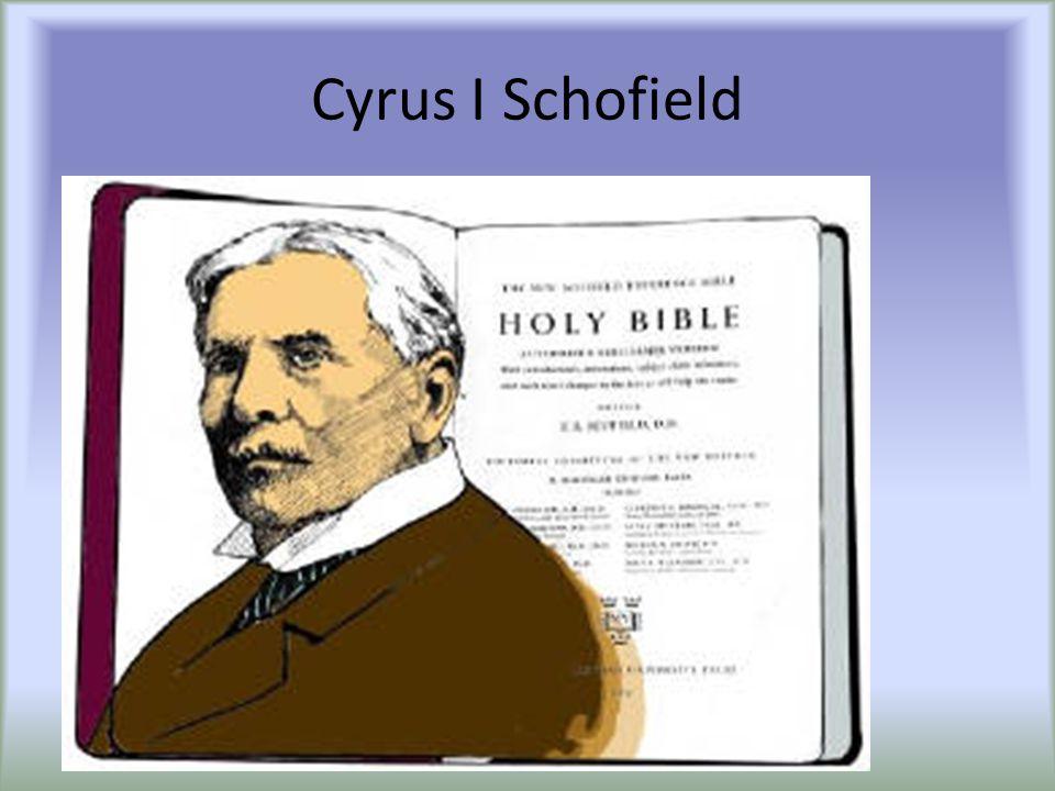Cyrus I Schofield
