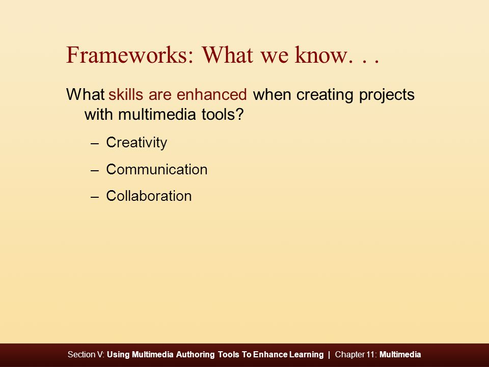 Section V: Using Multimedia Authoring Tools To Enhance Learning | Chapter 11: Multimedia Basics: Safe, Legal and Ethical Use Are there considerations regarding safe, legal and ethical use of multimedia content .