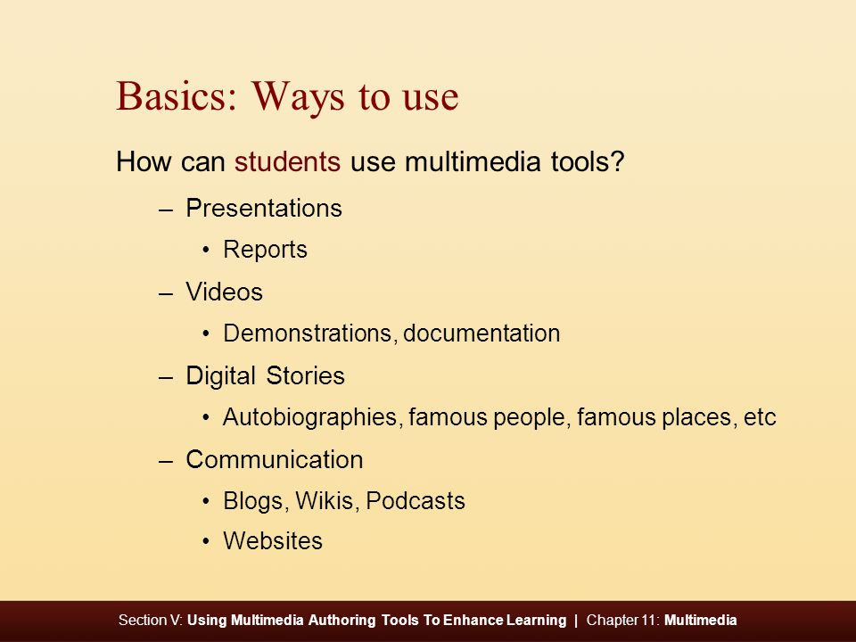 Section V: Using Multimedia Authoring Tools To Enhance Learning | Chapter 11: Multimedia Voice from the Classroom iPower in a Third-Grade Classroom James Andrew McDonald Oak Ridge, Tennessee Third Grade Teacher: Revisit chapter 2 for this voice.