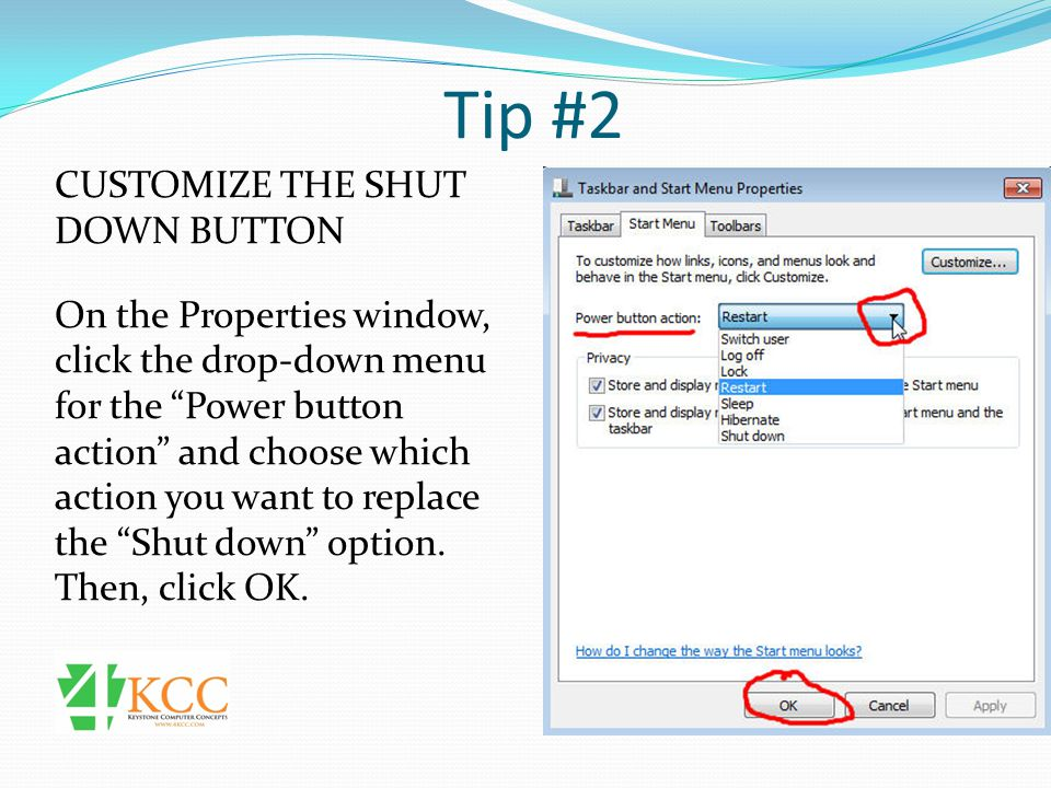 Tip #6 USE JUMP LISTS Jump lists are accessed from the start menu by moving your mouse to the arrows next to the program name.