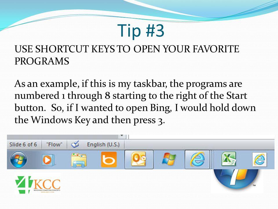 Tip #12 DISPLAY VIDEOS ON THE START MENU 2) On the Start Menu tab, click Customize.
