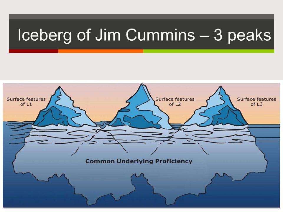 Iceberg of Jim Cummins – 3 peaks