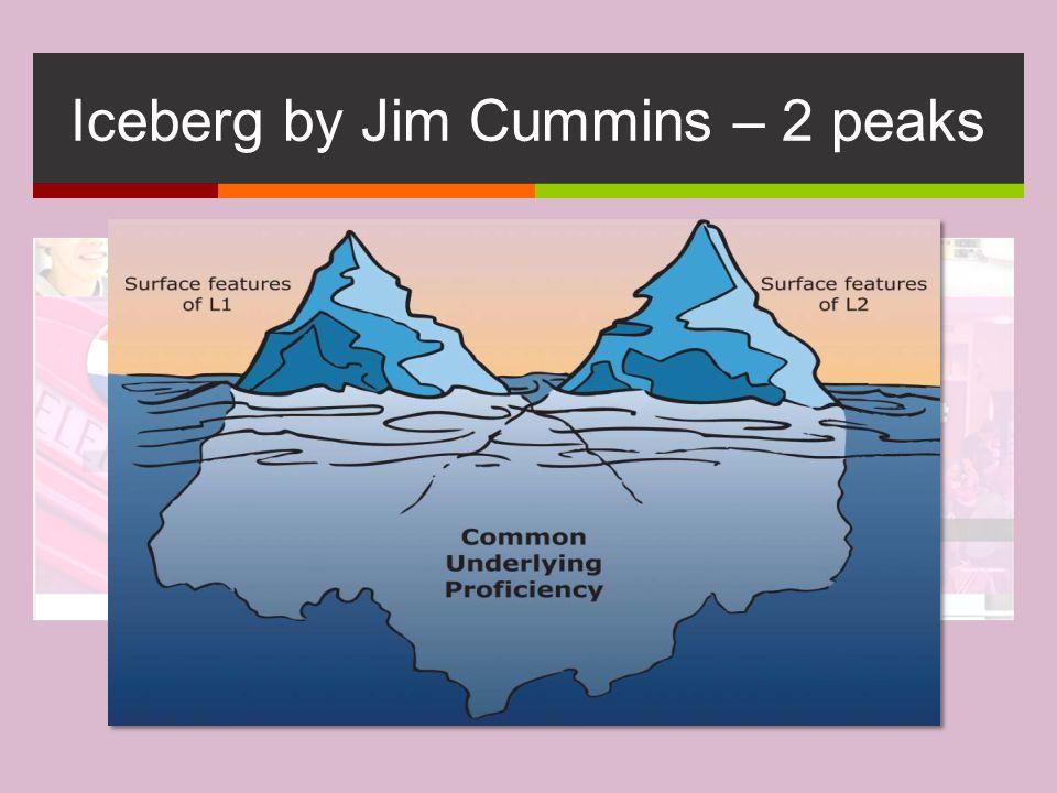 Iceberg by Jim Cummins – 2 peaks