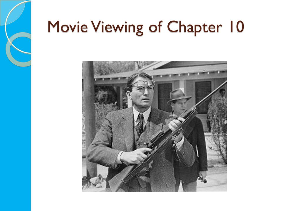 Movie Viewing of Chapter 10