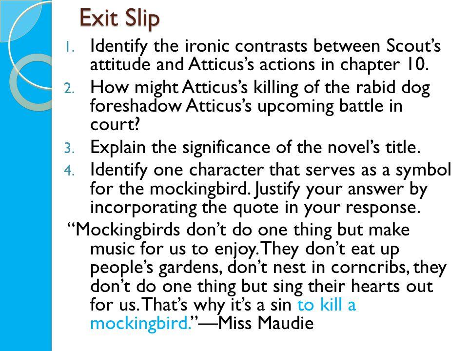 Exit Slip 1.