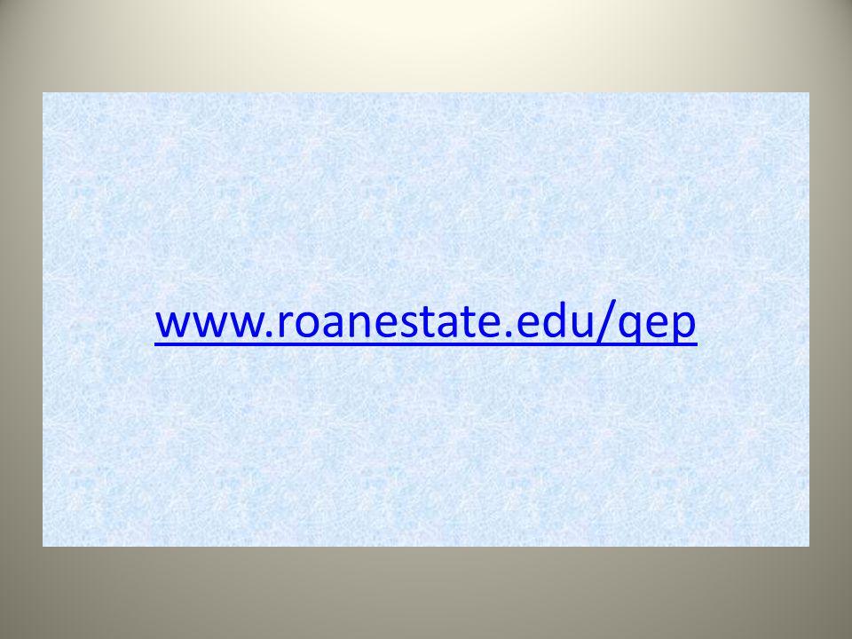 www.roanestate.edu/qep