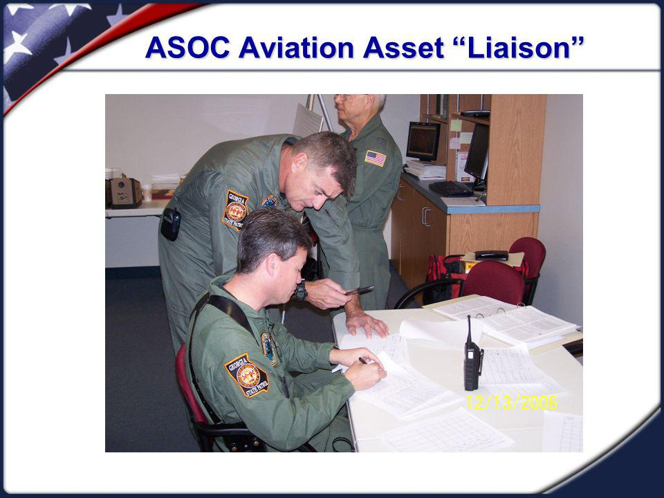 ASOC Aviation Asset Liaison