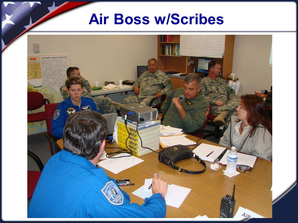 Air Boss w/Scribes