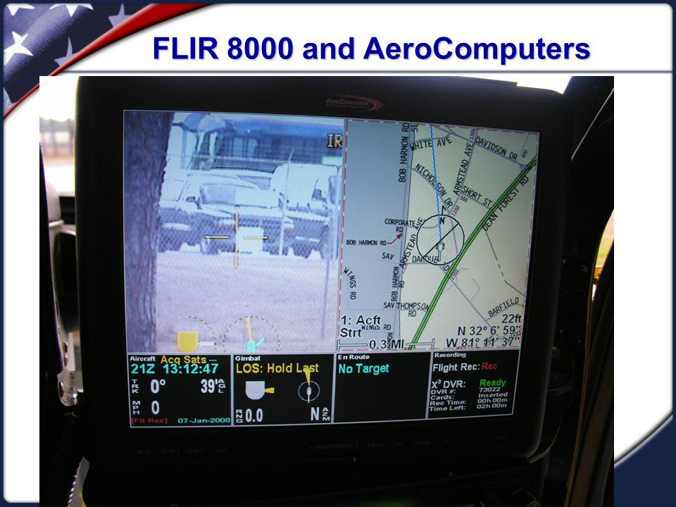 FLIR 8000 and AeroComputers