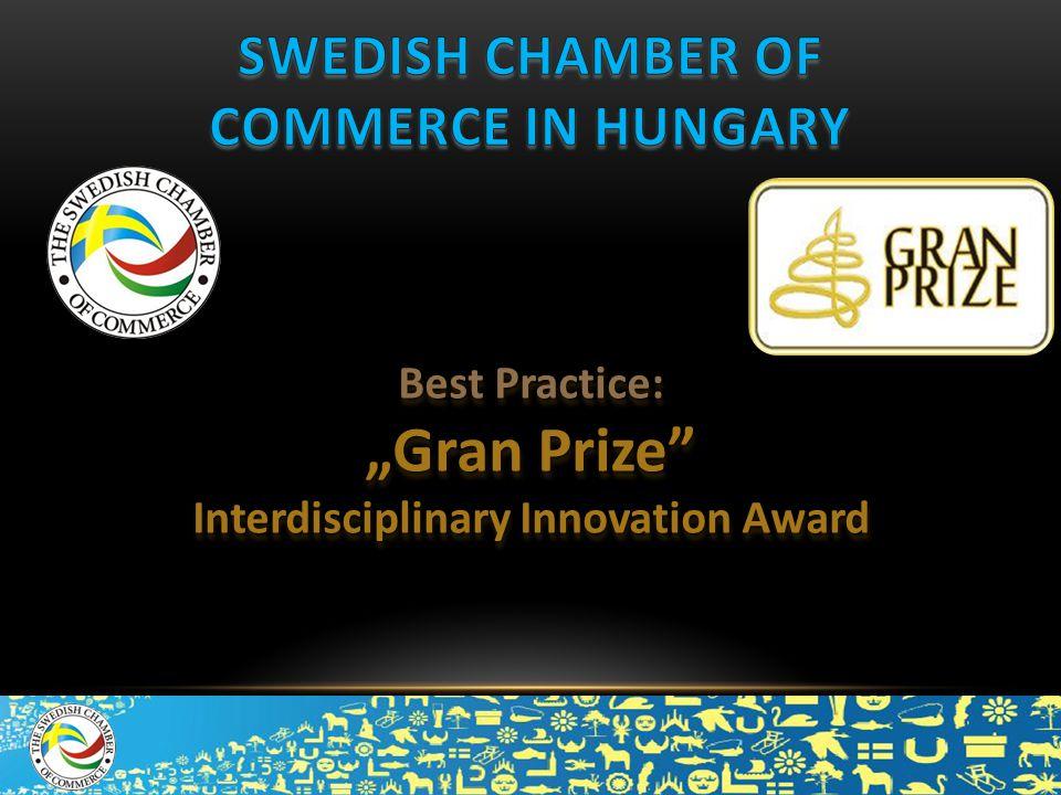 "Best Practice: ""Gran Prize"" Interdisciplinary Innovation Award Best Practice: ""Gran Prize"" Interdisciplinary Innovation Award"