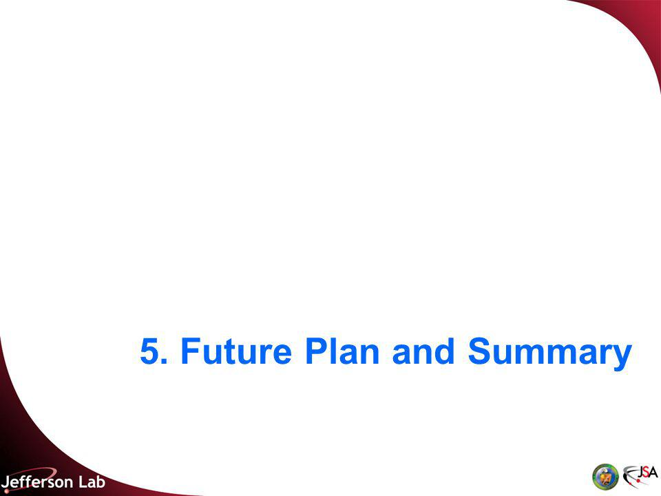 5. Future Plan and Summary