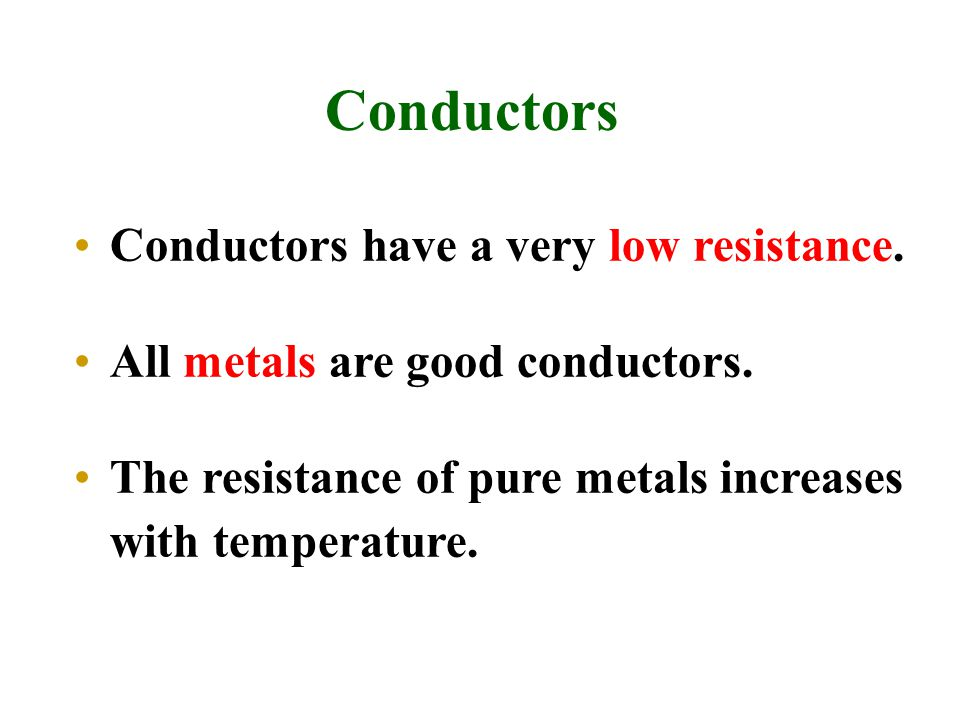 Positive Temperature Coefficient (  ) Some devices show a large increase in resistance when energized.