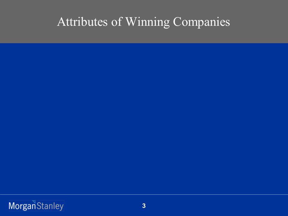 3 Attributes of Winning Companies