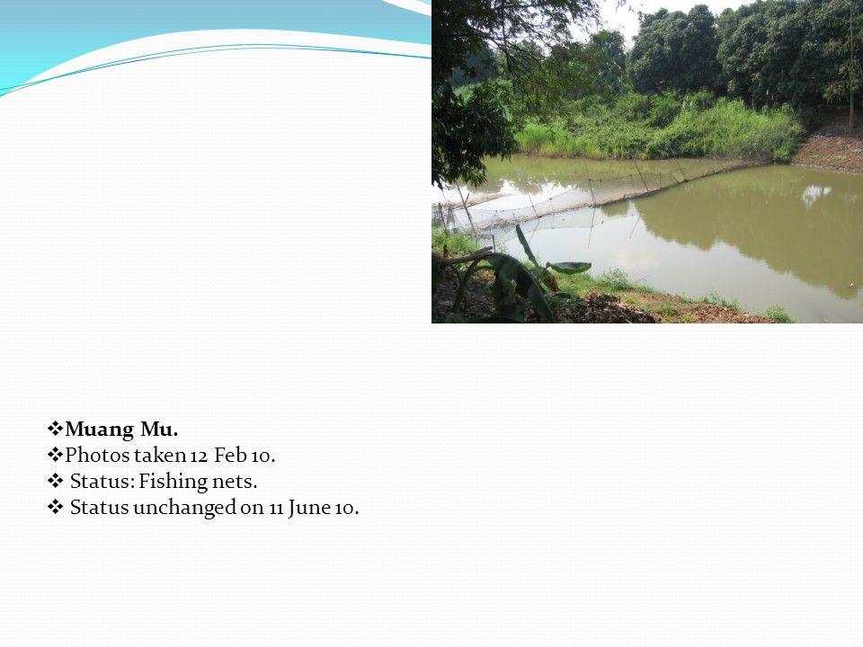  Asian Highway Bridge. Photos taken 12 Feb 10.  Status: Fishing net obstacle.