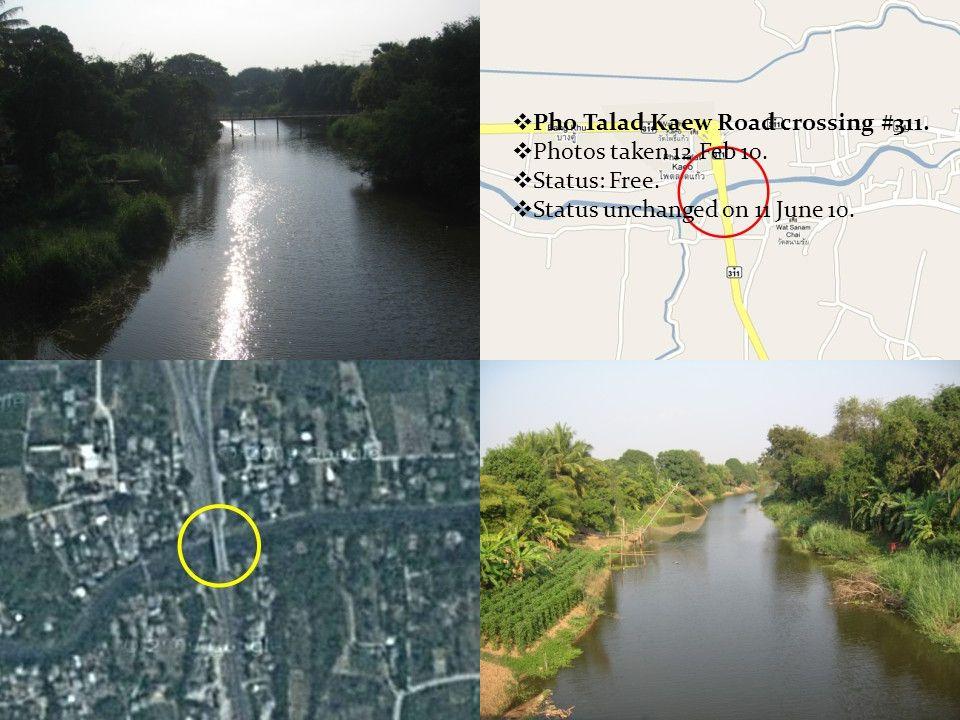  Wat Sanam Chai Bridge. Photos taken 12 Feb 10.