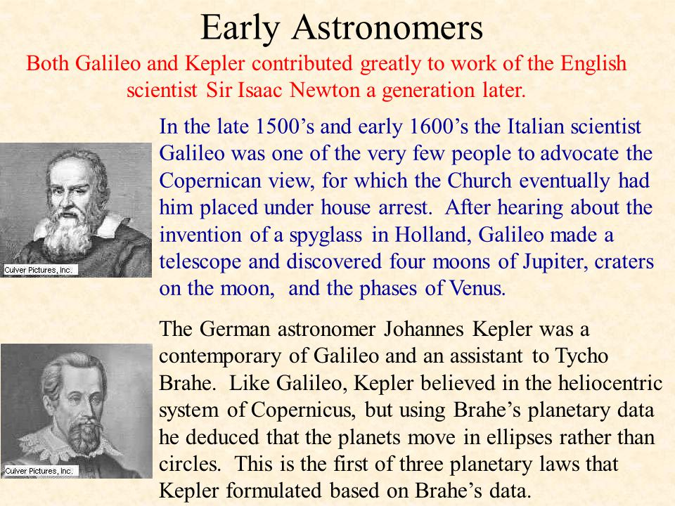 Early Astronomers In the 2 nd century AD the Alexandrian astronomer Ptolemy put forth a theory that Earth is stationary and at the center of the unive