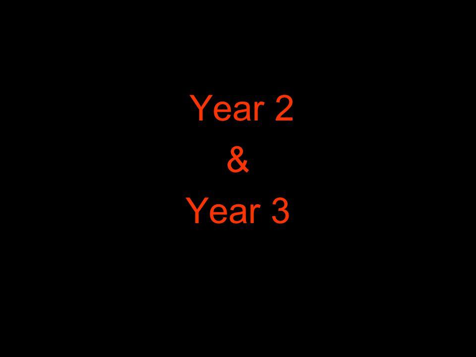 Year 2 & Year 3