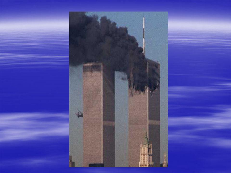 Satellite Photo of NY & NJ Smoke from Burning Towers