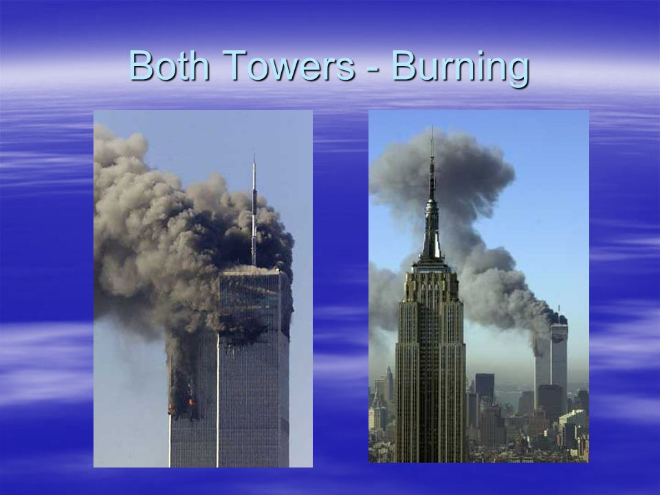 South Tower Blast