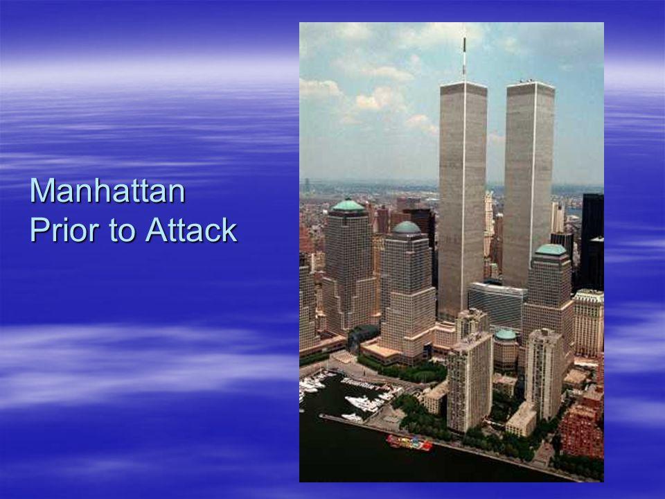 Manhattan Prior to Attack
