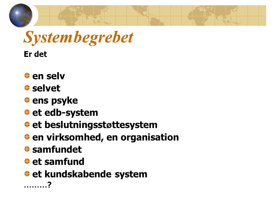 Kundskabende System I Client Purpose Measure of Performance
