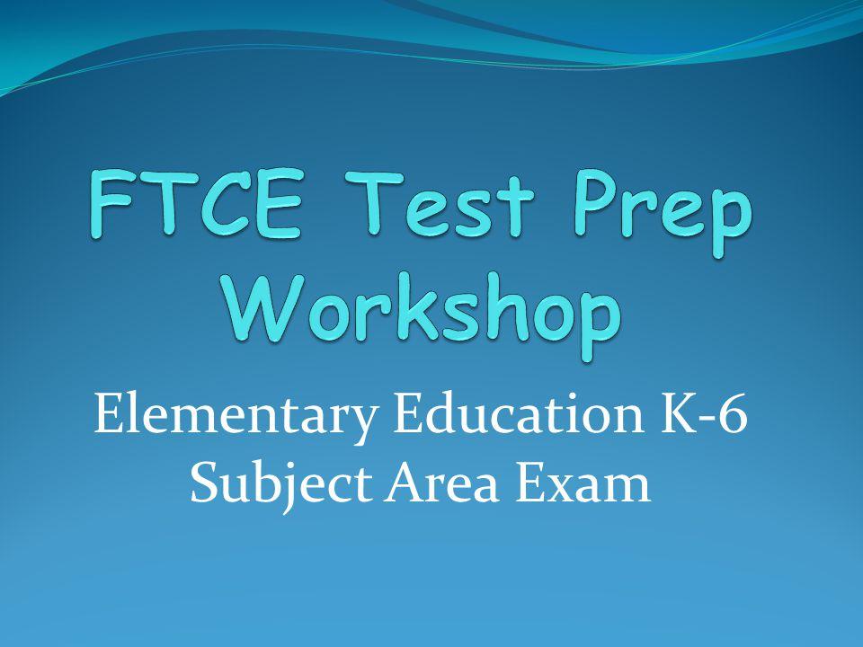 Elementary Education K-6 Subject Area Exam