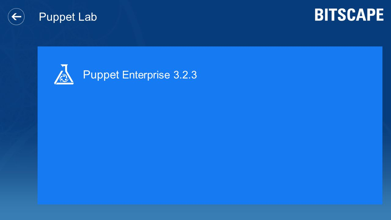 Puppet Lab Puppet Enterprise 3.2.3