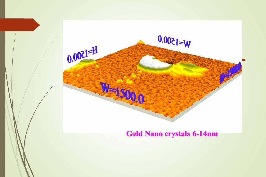  Gold Nano crystals 6-14nm