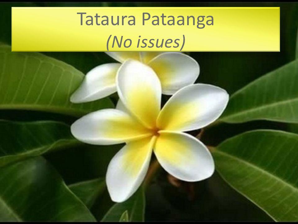 Ngametuangaro Pataanga (No issues)
