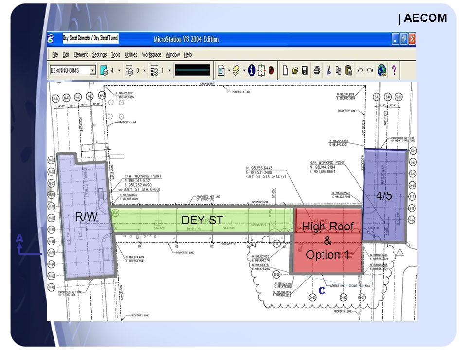 A C R/W DEY ST High Roof & Option 1 4/5 | AECOM