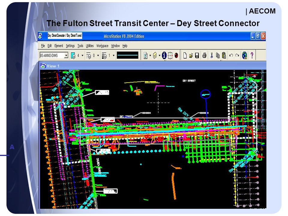 A C The Fulton Street Transit Center – Dey Street Connector | AECOM