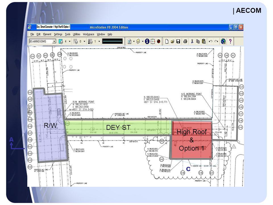 A C R/W DEY ST High Roof & Option 1 | AECOM