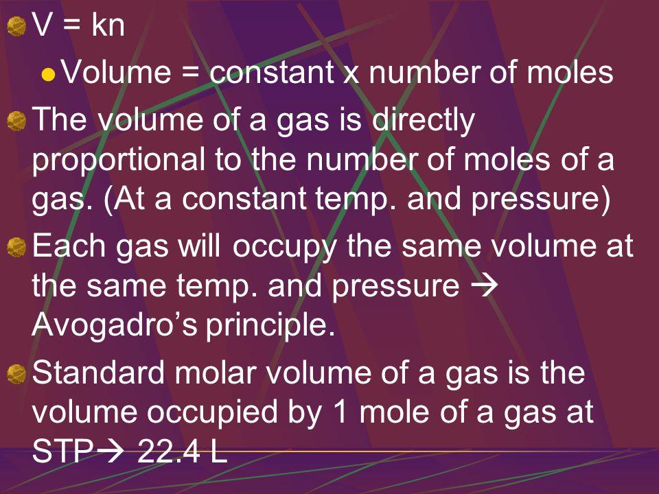 ` The molar mass of a gas = 1 mol.of a gas = 22.4 L of a gas at STP.
