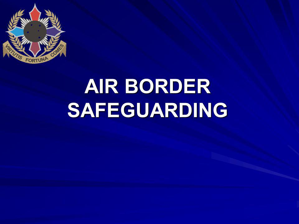 AIR BORDER SAFEGUARDING