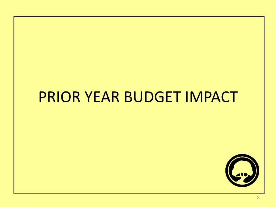 Prior Year Impact in Dollars 4 $8,128,656